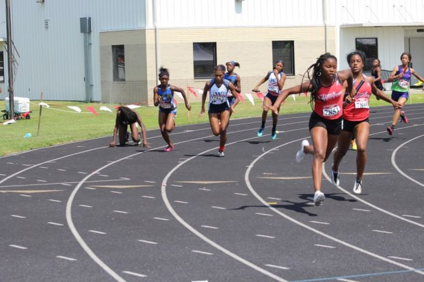 aau track and field meet results swimming